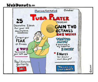 Tuba Cartoon