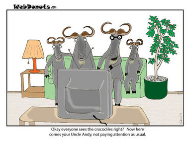 Wildebeast Cartoon