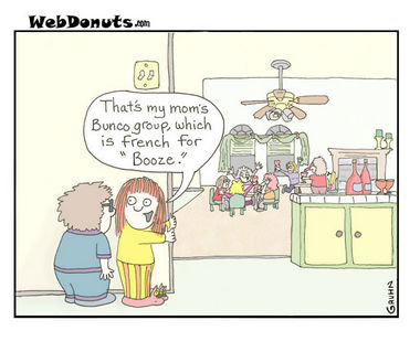 Bunco Cartoon