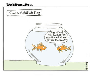 Image result for goldfish comic