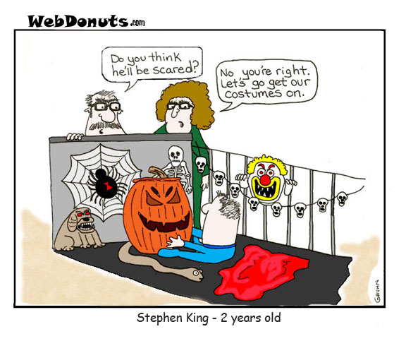 Stephen King Cartoon