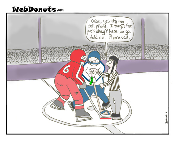Hockey Cartoon