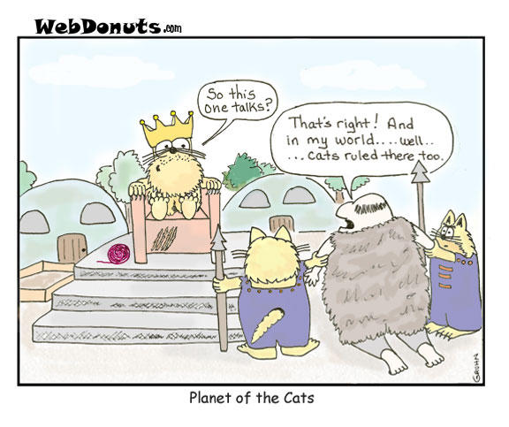 Planet Of The Cats