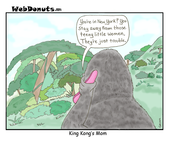 King Kong's Mom