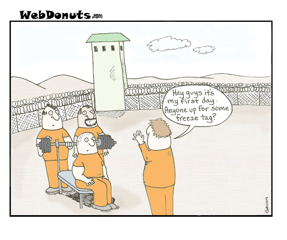 In the Prison Yard