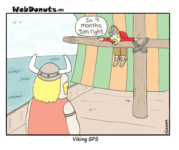 Funny Viking Cartoons Webdonuts Webcomics