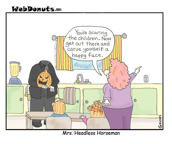Mrs. Headless Horseman