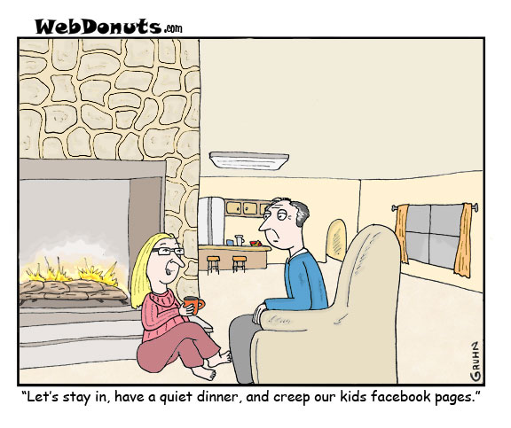 WebDonuts Comics - Evening