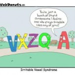 IBS Irritable Bowel Syndrome Cartoon